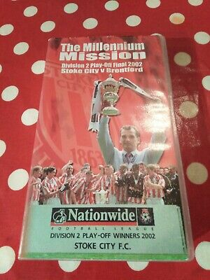 Video, Stoke City, The Millennium Mission, VHS, 2002 • 12.40£