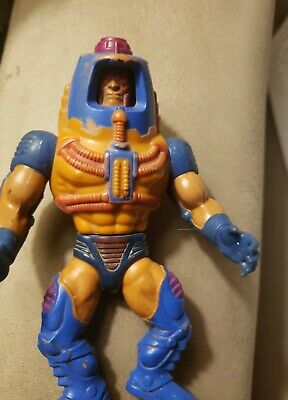 $6 • Buy Vintage 1982 Mattel Taiwan Heman Motu Man E Faces Action Figure # 9