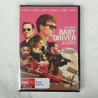 AU12.20 • Buy Baby Driver   Kevin Spacey Ansel Elgort Jamie Foxx   New & Sealed DVD