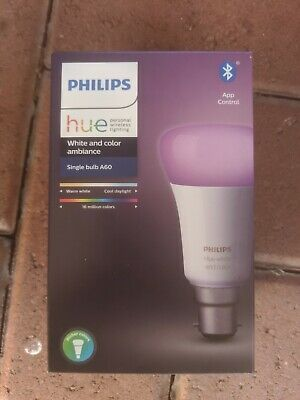 AU80 • Buy Philips Hue - White And Color Ambiance RGB (B22) -
