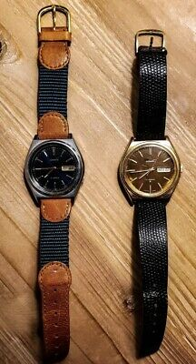 $ CDN100.56 • Buy 2 Seiko Watches Automatic Vintage Lot