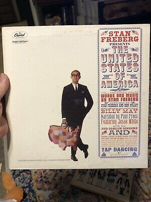 Stan Freberg Presents The United States Of America SW-1573 LP Vinyl • 2.15£