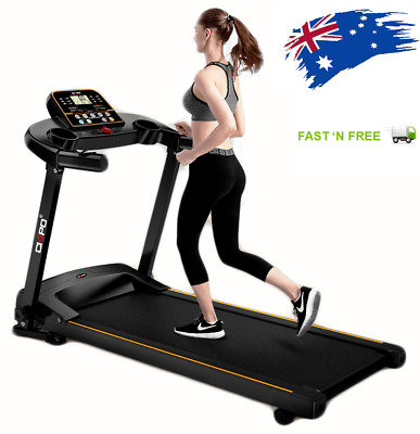 AU995 • Buy AU-Pro Fitness Power Electric Treadmill Home Gym Exercise Machine