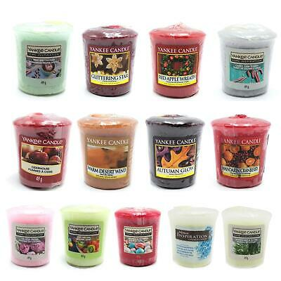 Yankee Candle Votive Sampler Christmas Scented Choose A Fragrance 49g • 3.99£