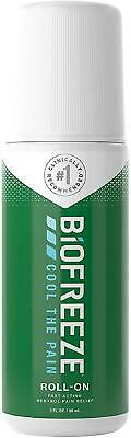 Biofreeze Pain Relieving Roll On Fast Targeted Cold Therapy Muscle Relief 84g  • 7.80£
