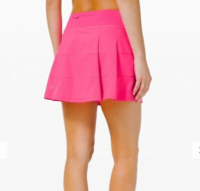 $ CDN129.99 • Buy Lululemon Nwt Pace Rival Skirt Sz 6 Tall Pink Highlight Tennis Golf Run Beach