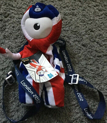 Official London 2012 Olympics: Wenlock Union Jack Backpack • 4.99£