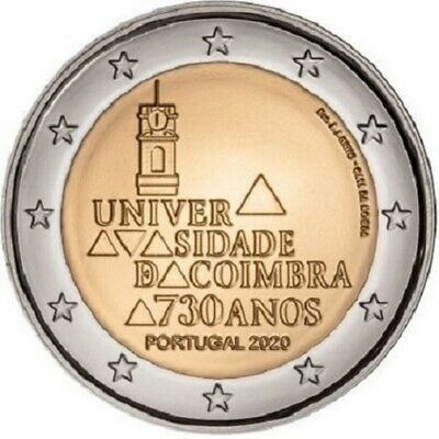 $ CDN6 • Buy IN STOCK - PORTUGAL 2 EURO 2020 - University Of Coimbra - UNC