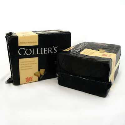 £24.71 • Buy  Powerful Collier's Welsh Cheddar Cheese Approx 2.5kg Best Dates