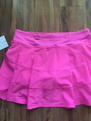 $ CDN124.99 • Buy Lululemon Nwt Pace Rival Skirt Sz 6 Tall Dark Prism Pink Tennis Golf Beach Run