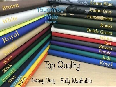 £6.99 • Buy COTTON DRILL TWILL EXTRA THICK  Fabric 150cm Wide ,camoflage Material Army DPM