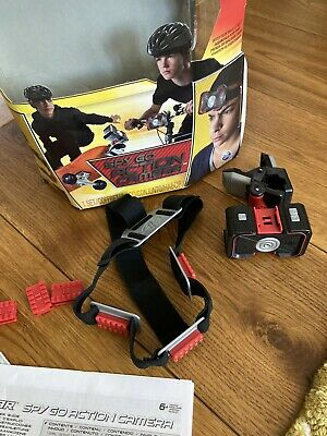 Spy Gear Spy Go Action Camera With Clips And Headband- Excellent Condition • 9.99£