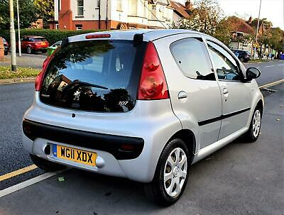 2011 Peugeot 107 1.0L Urban 5DR 70,000 MILES, £20 ROAD TAX, 2 FORMER KEEPERS • 1,995£