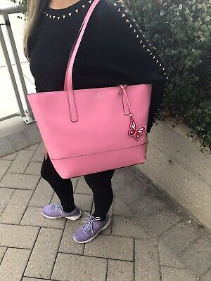 $ CDN225 • Buy 🎀 BNWT Authentic Kate Spade Leather Pink Adley Tote Purse 🎀