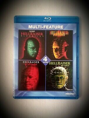 Hellraiser Collection: 4 Film Set (Bloodline / Inferno / Hellseeker / Hellworld) • 17.70£