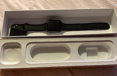 $ CDN527.28 • Buy Apple Watch Series 5 44mm Space Gray Case Black Band - (MWVF2LL/A)