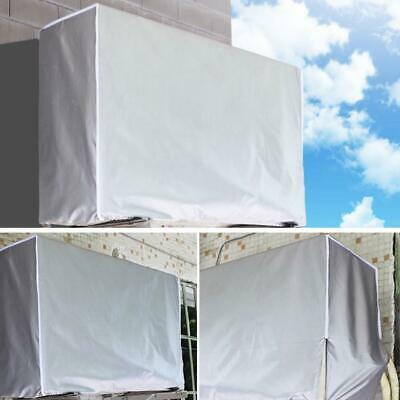AU10.49 • Buy Silver Outdoor Air Conditioner Cover Anti-Dust Waterproof Air Hood V1C0