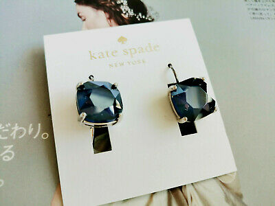 $ CDN32.65 • Buy Kate Spade  Square Crystal Gold Plated Leverback Drop Earrings