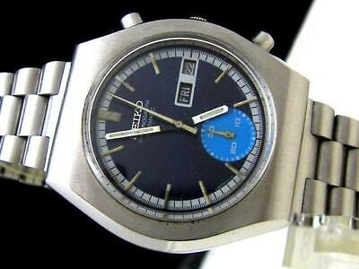 $ CDN558.69 • Buy Vintage Seiko 6139-8020 Chronograph Free Shipping With Tracking # & Insurance