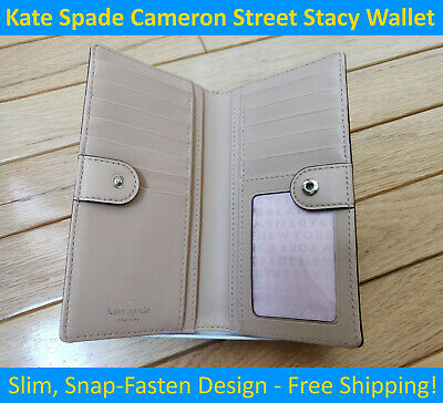 $ CDN89.99 • Buy ⭐New Kate Spade Cameron Street Stacy Wallet - Continental Wallet W/ Snap Closure