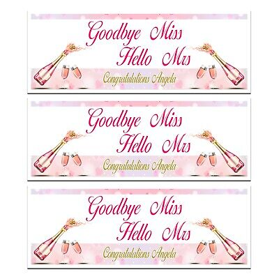 £4.99 • Buy Hen Do Party Bride To Be Pink Prosecco Champagne Banner  Wall Decorations
