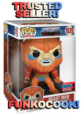 $94.99 • Buy Funko Pop! Masters Of The Universe 10  BEAST MAN Figure MOTU NYCC 2020 *SHARED*