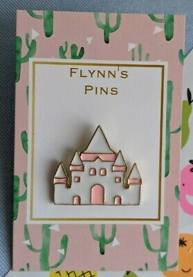 Fairytale Castle Enamel Pin Badge Gift Disney Princess Prince  • 2.99£