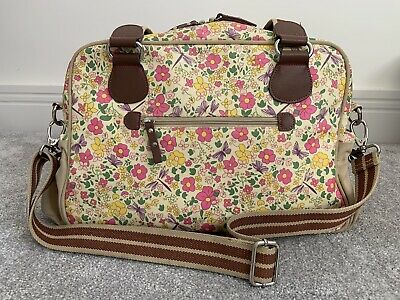 Pink Lining Yummy Mummy Changing Bag Floral Butterfly Dragonfly • 7.50£