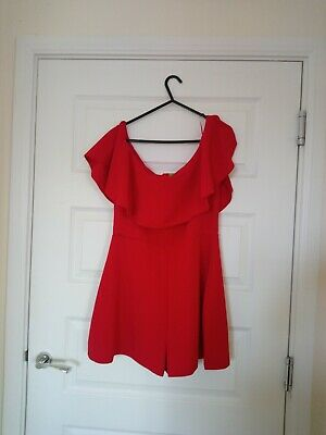 Gorgeous Ladies NEWLOOK Playsuit. Size 16. BNWT. RRP £22.99 • 6£