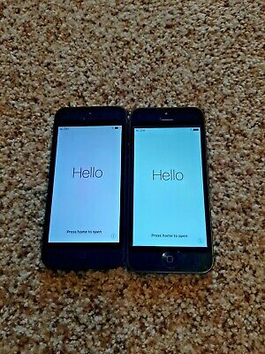 $ CDN79.08 • Buy Lot Of 2 Used Apple IPhone 5 - 16GB - (AT&T) - Both In Good Condition