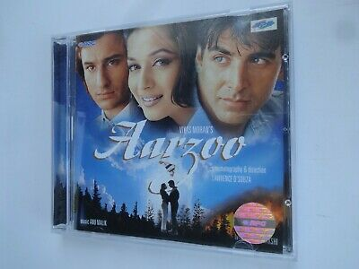 AARZOO ~ Bollywood Soundtrack Hindi CD ~ Anu Malik ~ 1998 • 9.95£
