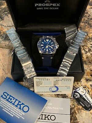 $ CDN204.98 • Buy Seiko SRPD23 PROSPEX Samurai - Save The Ocean  Great White Shark W/ Extras