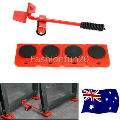 AU16.50 • Buy 5x Heavy Furniture Moving System Lifter Kit With Slider Pad Roller Move Tool AU