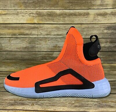 AU127.90 • Buy Adidas N3XT L3V3L F97259 Laceless Basketball Shoes Orange Trae Young Lavine 15