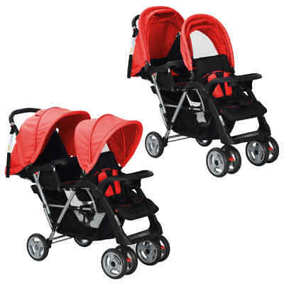 AU181.95 • Buy Baby Tandem Stroller Toddler Twin Seat Pushchair Folding Travel Double Buggy