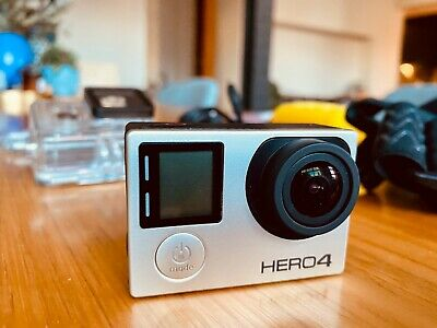 AU99 • Buy GoPro HERO4 W/heaps Of Accessories. Barely Used. 32G Card.
