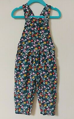 Baby Boden Girls Navy Paintbox Ditsy Floral Dungarees, 12-18 Months • 0.99£