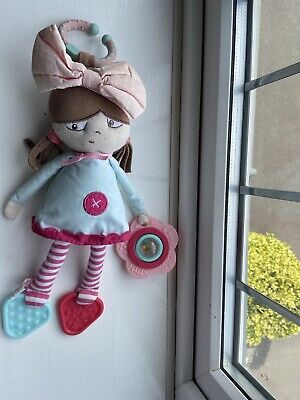 Mamas And Papas Polly Rag Doll Pushchair Toy • 0.99£