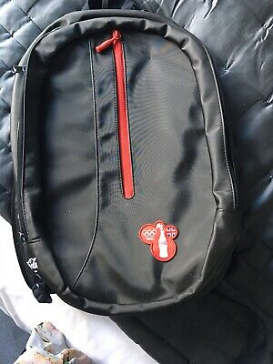Coca Cola Backpack Olympic Games 2012 Made From Recycled Coke Bottles BNWT • 11.99£