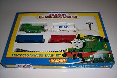 HORNBY Original Percy CLOCKWORK Train Set (00 Gauge) -Discontinued/Boxed • 47.92£