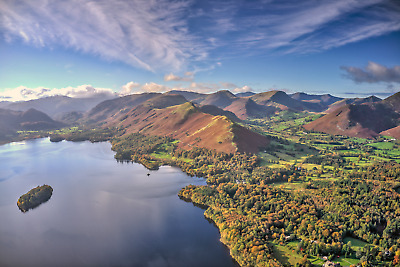 Lake District Photographic Print - Derwentwater, Catbells & Newlands Valley • 10£