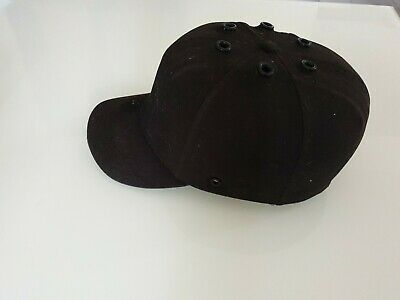 Safety Baseball Cap Hard Hat Bump Cap Black Vented & Safety  • 9.60£