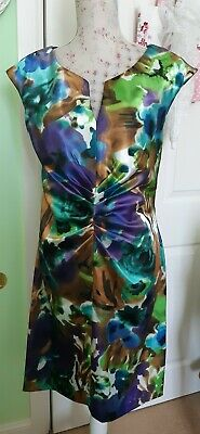 💜💜Annected Apparel Satin Occasions Dress Size 10 Absolutely Stunning 💜💜 • 5£