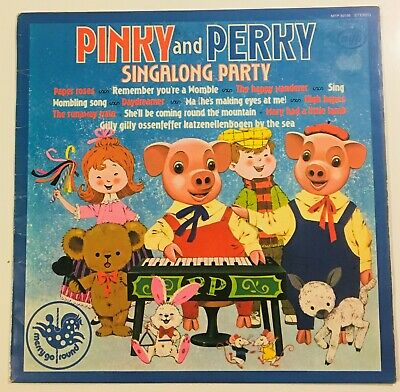 Pinky And Perky - Singalong Party  12 LP Vinyl    • 2.25£