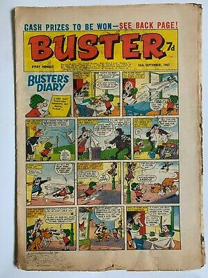 Buster Comic 16 Sep 1967 Vg+ Condition • 0.99£