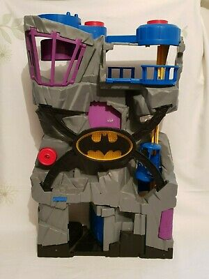 Batman Bat Cave Play Set House Size Large 25 X 15 Inch With Robin Figure • 9.99£