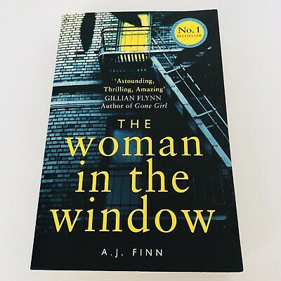 AU12 • Buy The Woman In The Window By Finn A. J. (Paperback) FREE POST