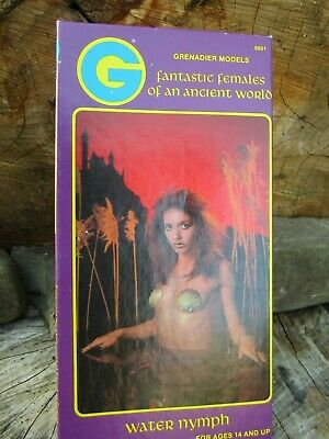 Water Nymph - 1990 35mm Grenadier Models Fantastic Females Ancient World Box Set • 79.99£
