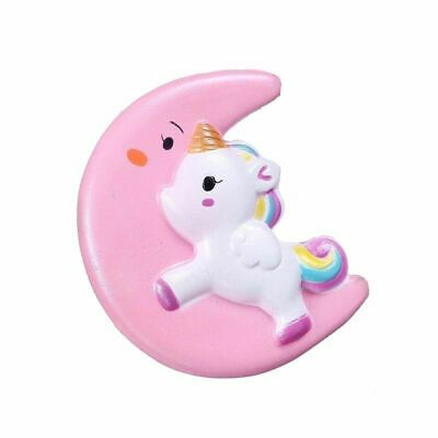 AU13.31 • Buy Moon Unicorn Squishy Toys Slow Rising Scented Soft Healing Stress Relief Toys