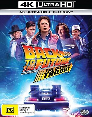 AU96.95 • Buy Back To The Future Trilogy (4K Ultra HD + Blu-ray (Boxset))  RELEASED 29/10/2020